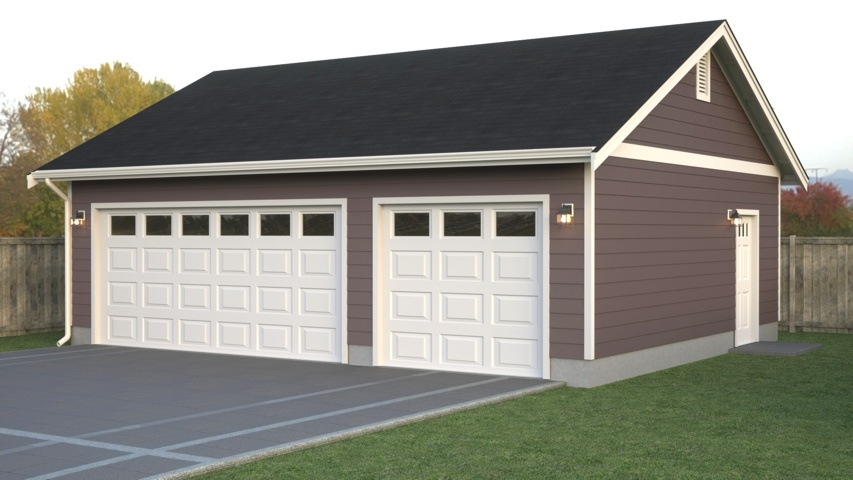 Custom garage layouts plans and blueprints true built home for Custom garage plans