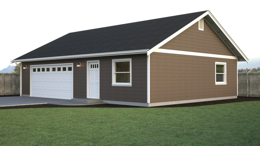 Zekaria 40x40 pole barn plans for 30x40 garage layout