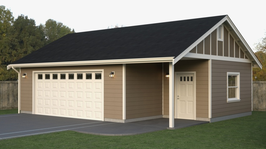 Garage plan 24 x 48 house plans home designs for 16 x 48 house plans