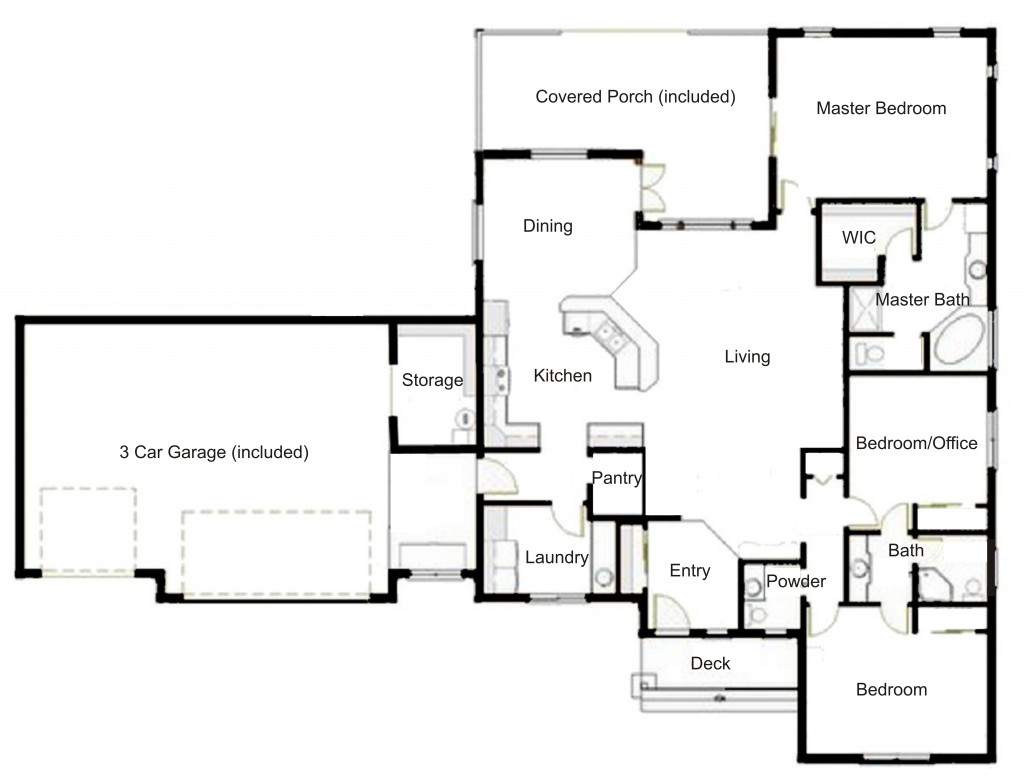 Branford Park Floorplan