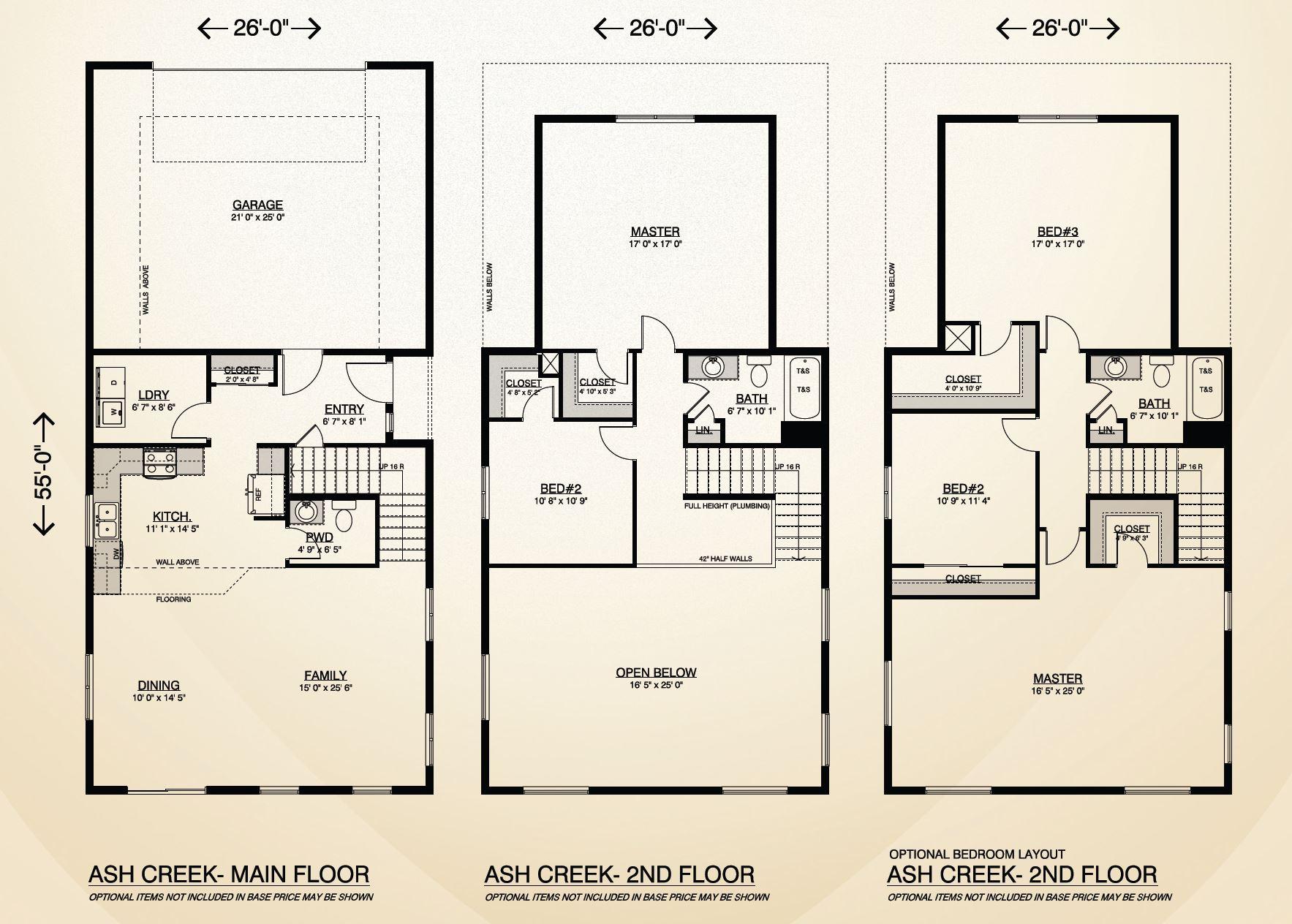 Ash creek true built home for True homes floor plans