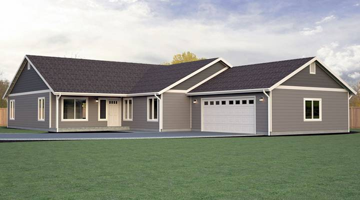 View our rambler floor plans build on your lot true for Rambler plans
