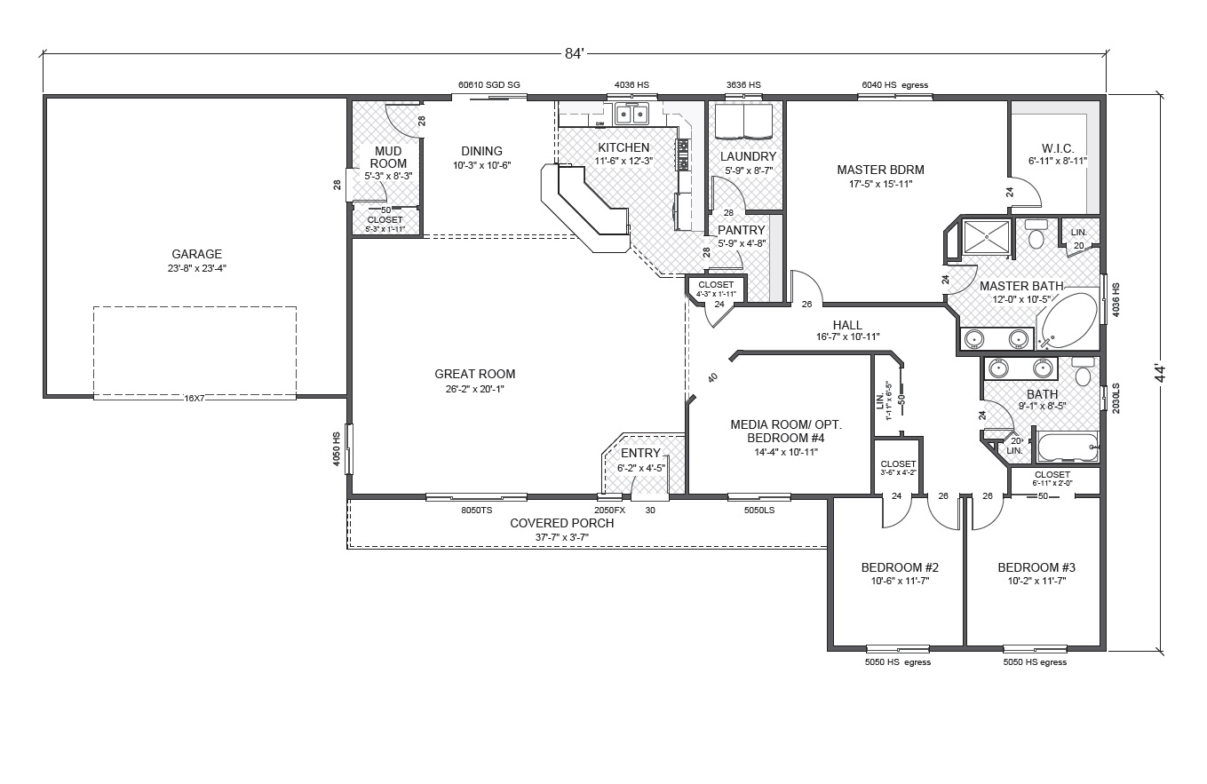 Rambler home plan joy studio design gallery best design for Rambler home plans