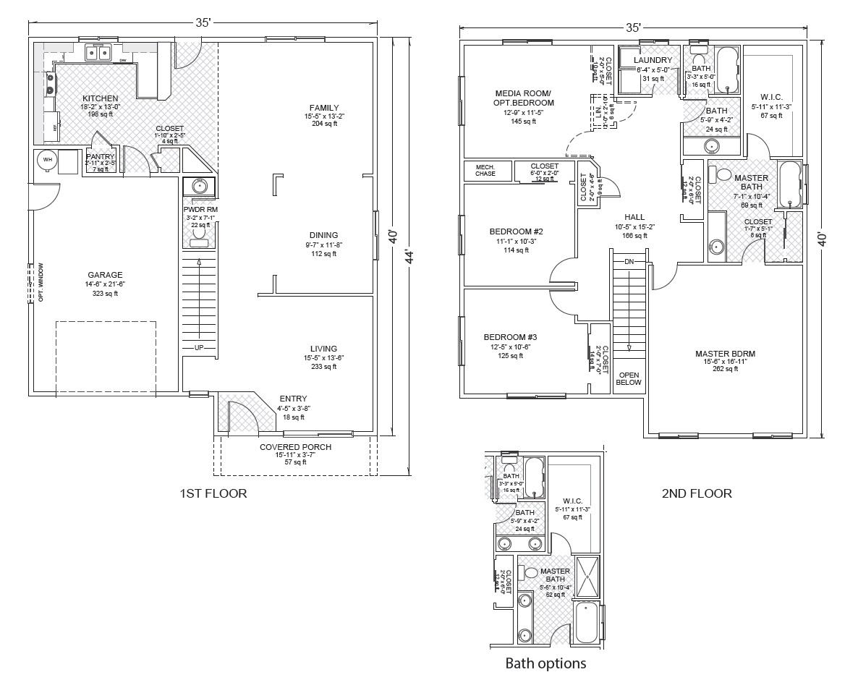 Clarkston true built home for True homes floor plans
