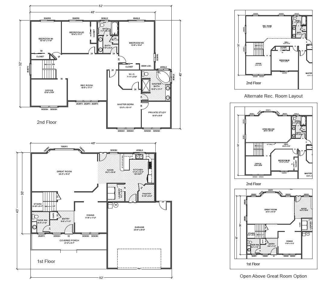 Corey ridge true built home for True homes floor plans