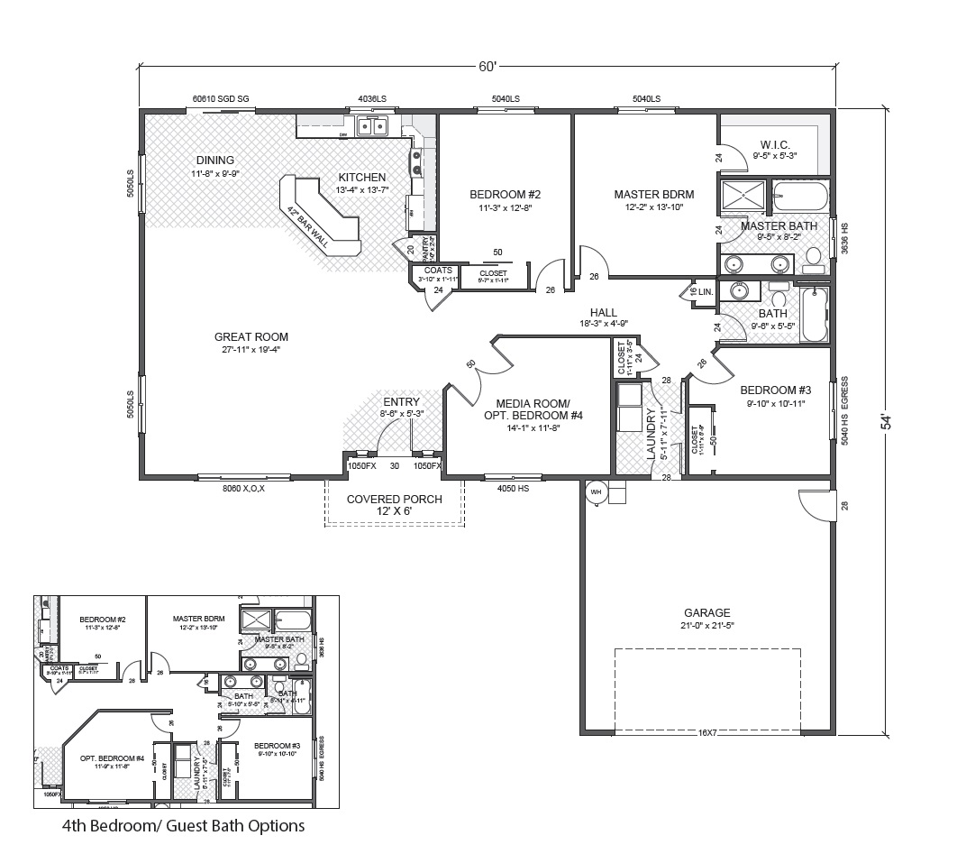Gannon park true built home for Rambler floor plans