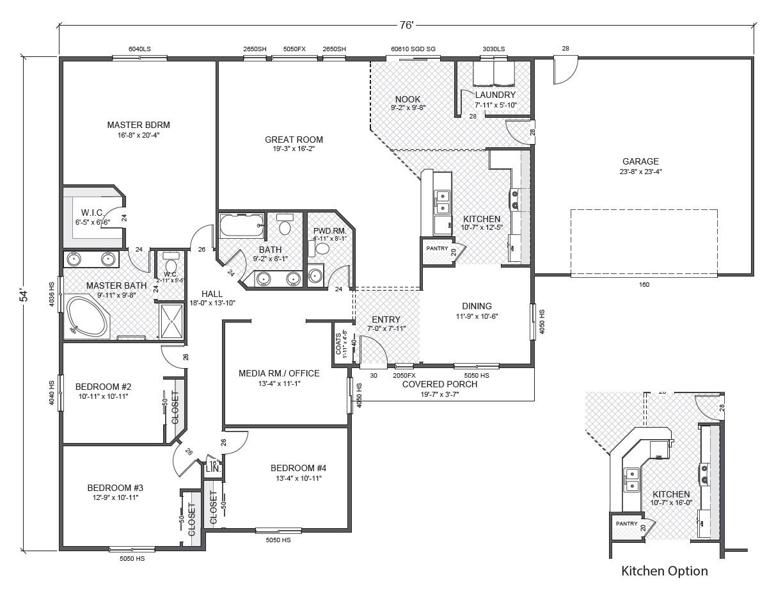 Greythorne house plan house design plans for True homes floor plans