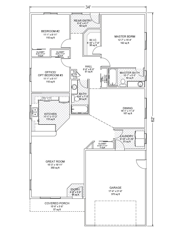 1000 images about home plans on pinterest two story for True homes floor plans