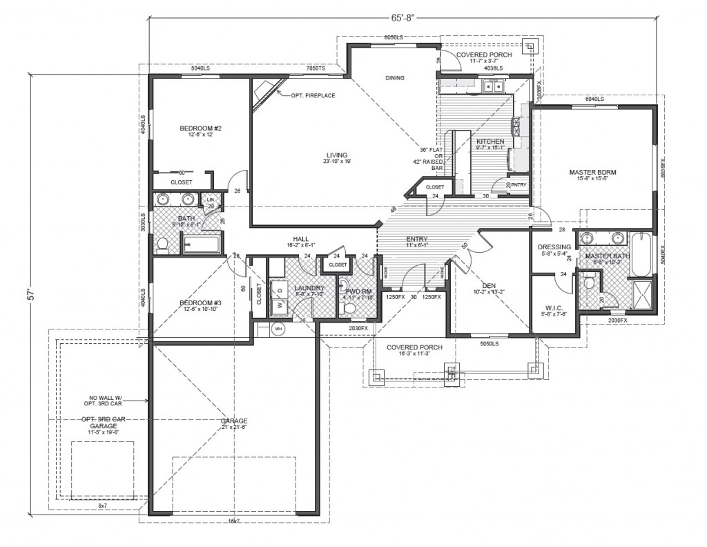 Ripple cove true built home for Rambler floor plans