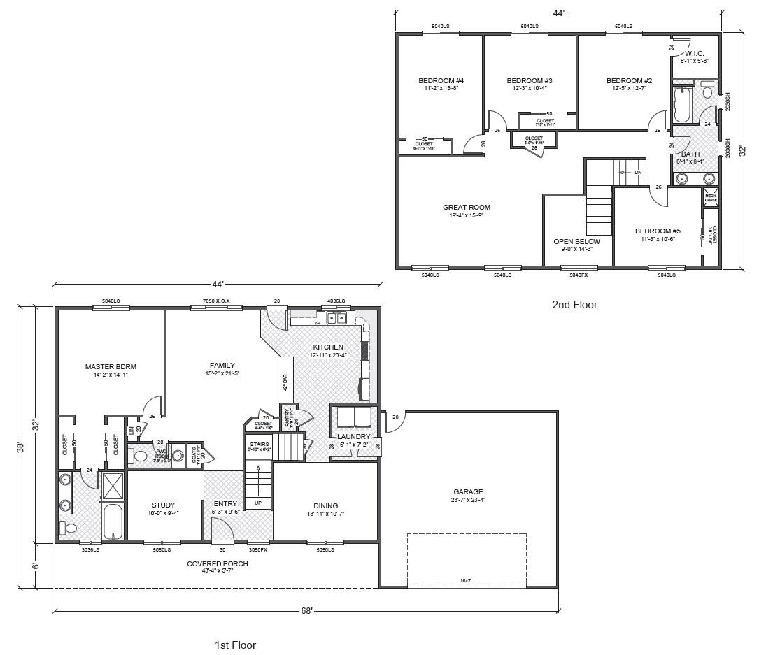 South hampton true built home for True homes floor plans