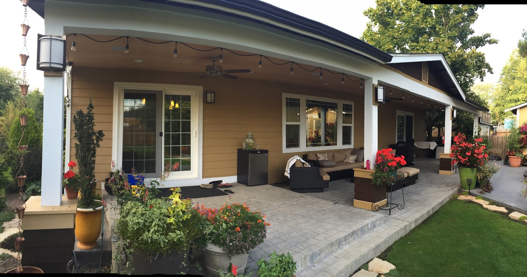 Big rambler large covered porch and why wouldn 39 t you add for House with covered porch