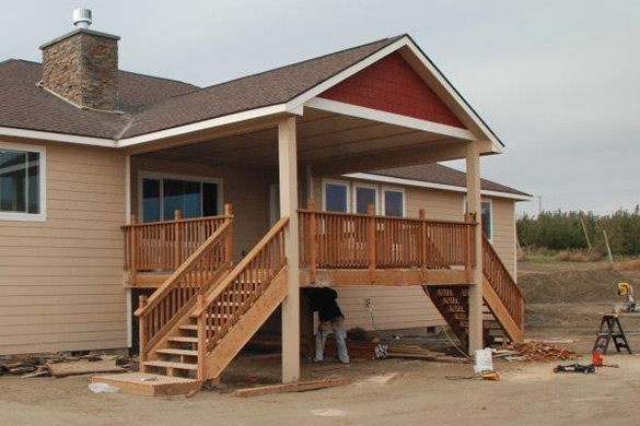 Covered Porch Upgrade