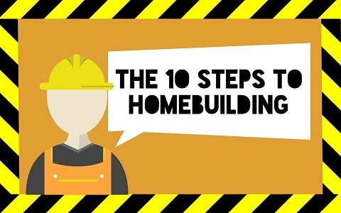 A step by step guide to the home building process true for Building a house step by step