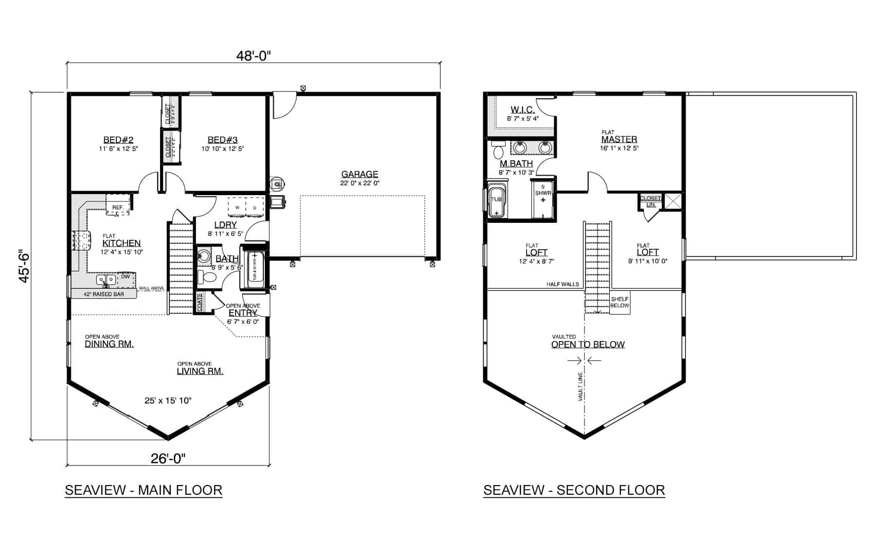 Seaview Home Plan True Built Home Pacific Northwest