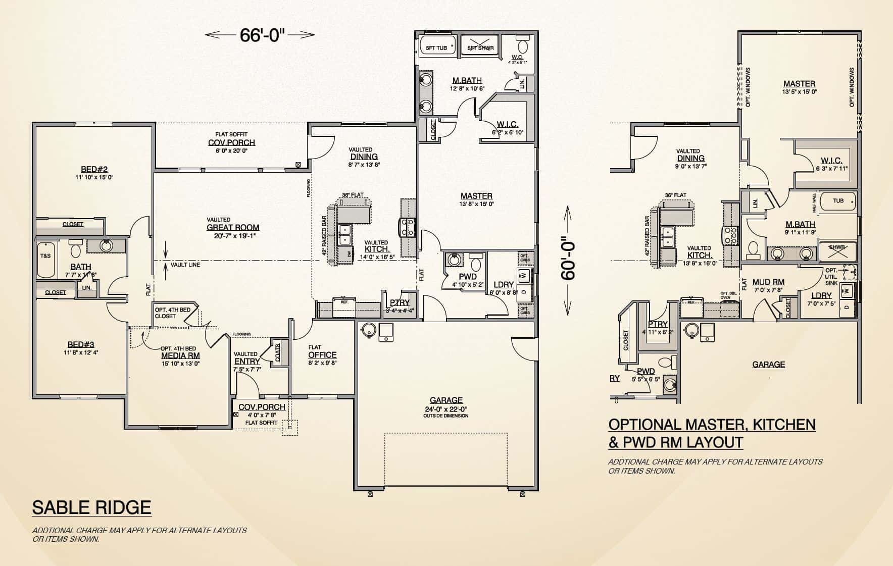 Sable ridge home plan true built home pacific for True homes floor plans