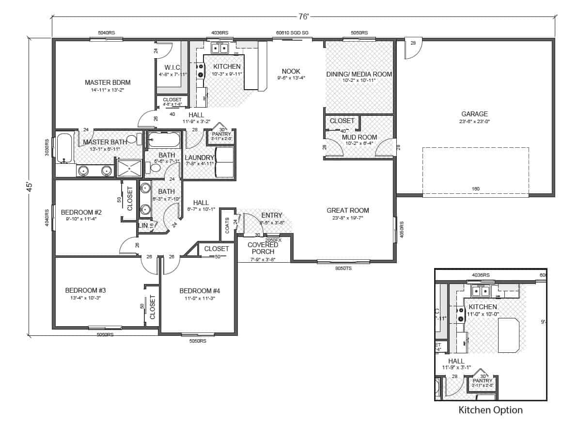 briarcliff-rambler-floor-plan Ramblers Sq Ft House Design on