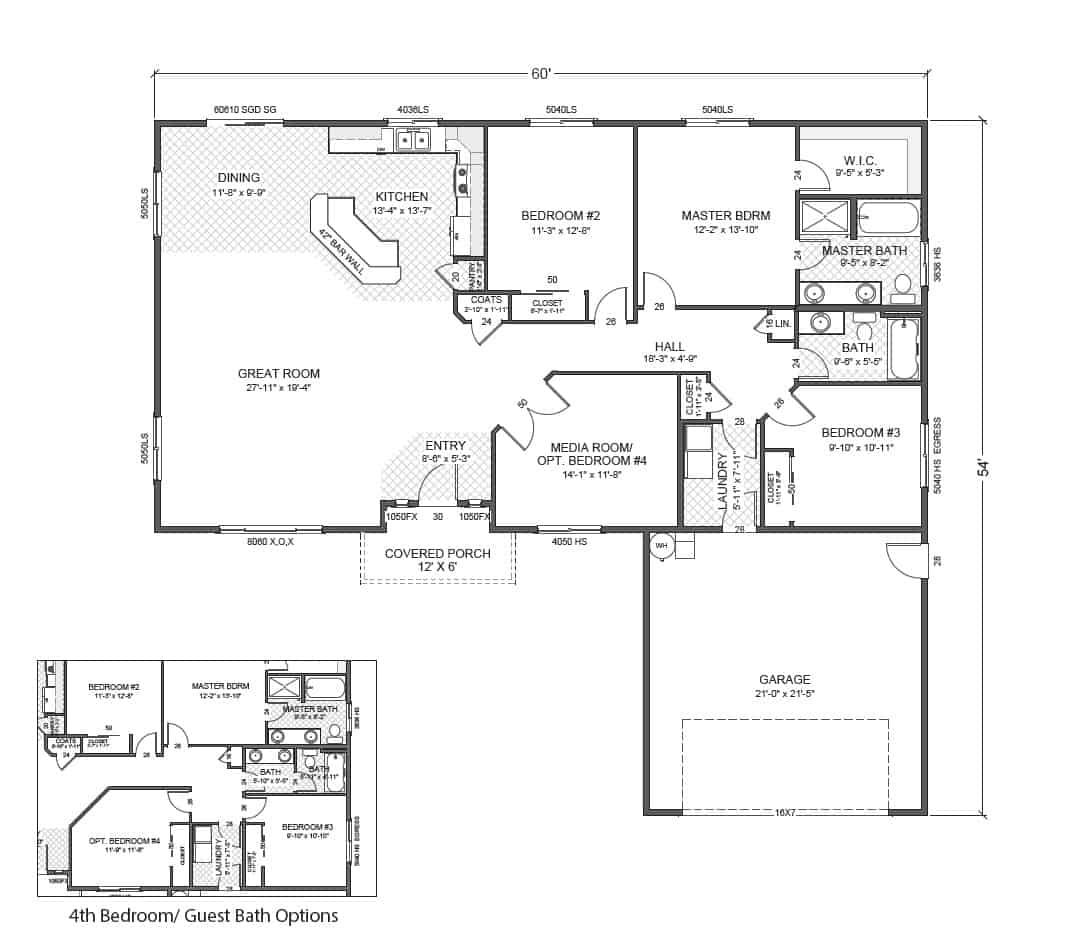 100 rambler plans gallery rambler plans page 1 schult independence 6028 18 excelsior - Cool rambler home designs ...