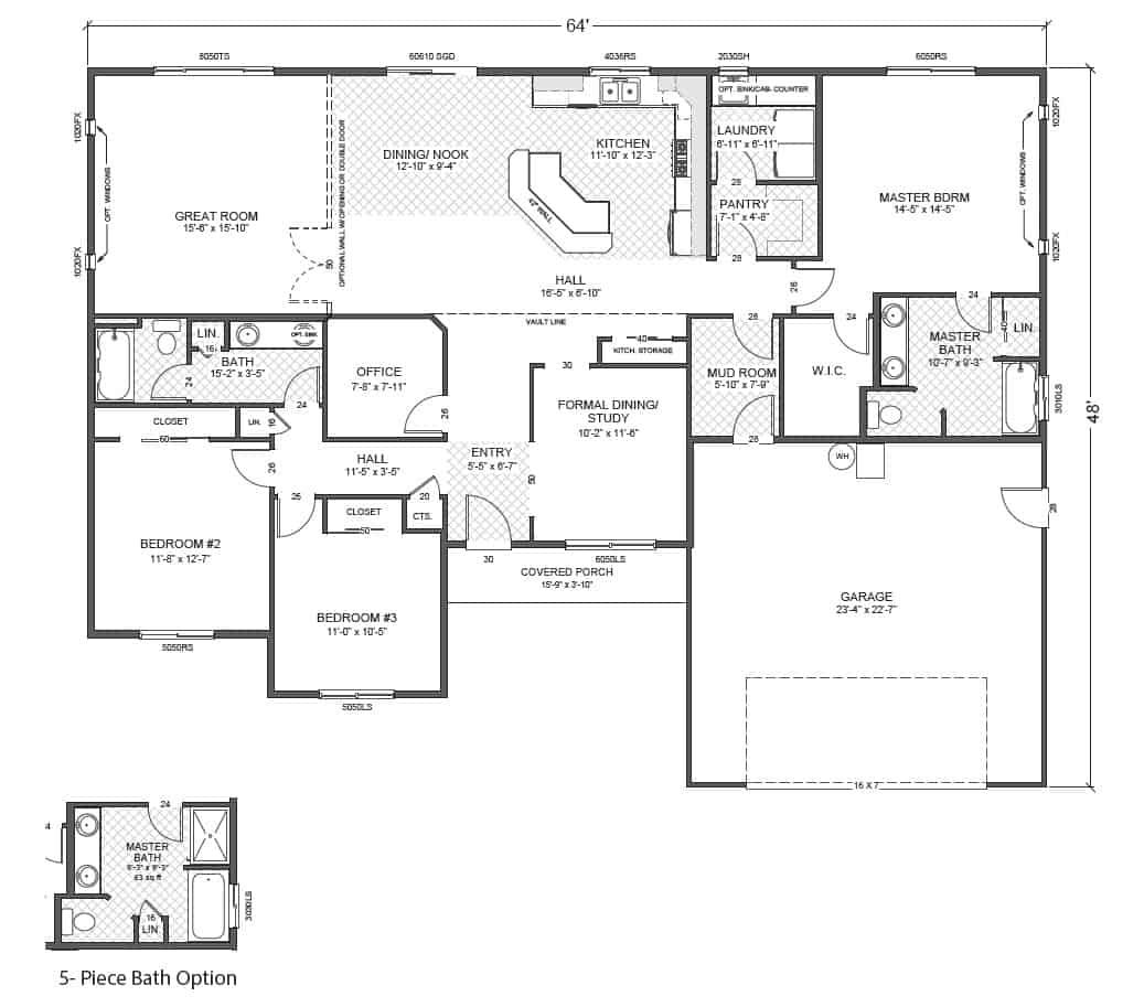 Rambler Floor Plans Plan 200318 28 Images Aug23b2xpng