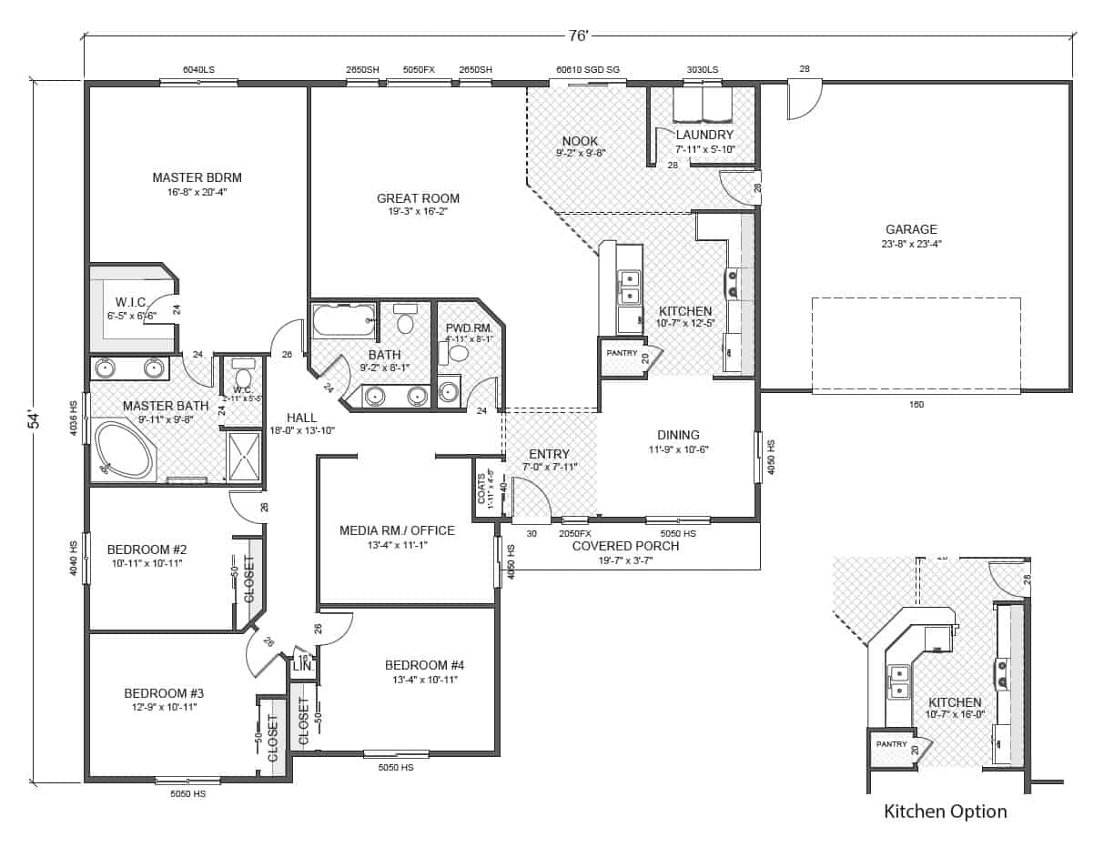Greythorne home plan true built home pacific northwest for Rambler home plans