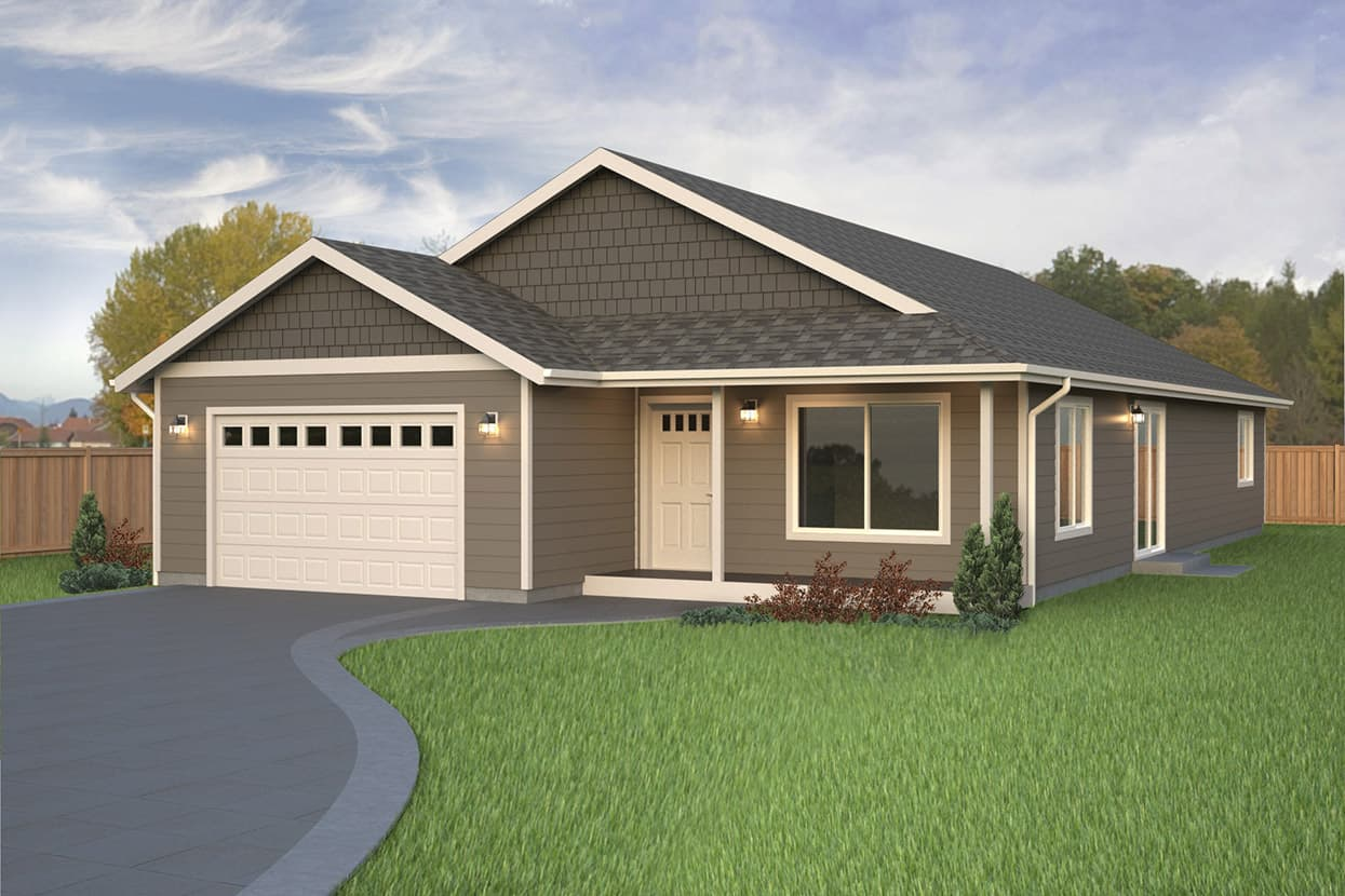 Rambler home plans true built home for Custom home building plans