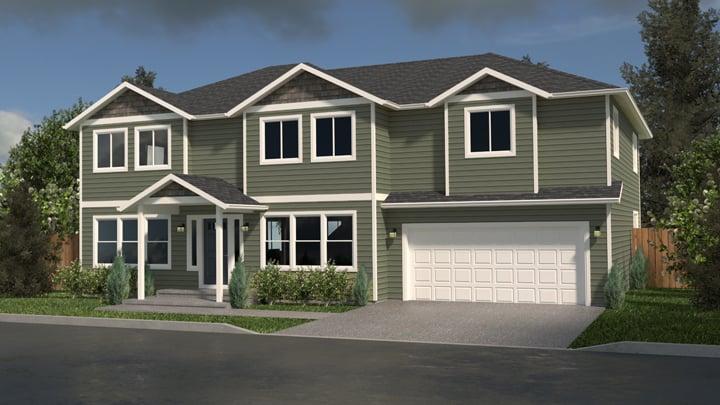 Multi Level Home Plans True Built Home Pacific