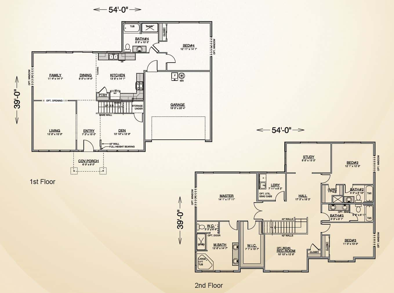 Richland Home Plan True Built Home Pacific Northwest