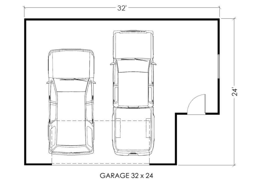 Garage True Built Home Pacific Northwest Home Builder – 28 X 24 Garage Plans
