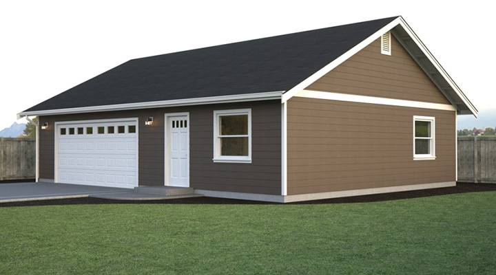 Garage w office and workspace true built home pacific Garage layout planner