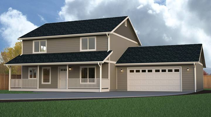Multi Level Homes | Multi Level Home Plans True Built Home Pacific Northwest