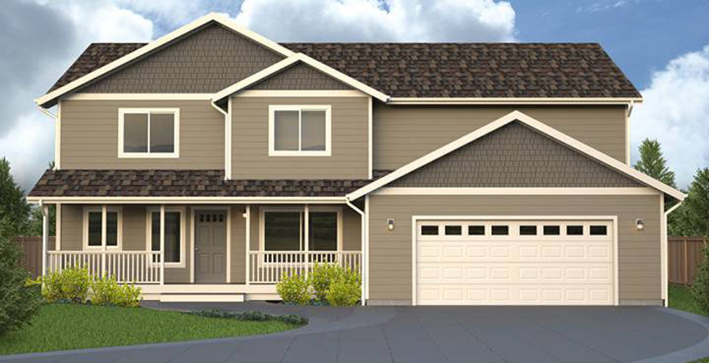Saybrooke Home Plan True Built Home Pacific Northwest