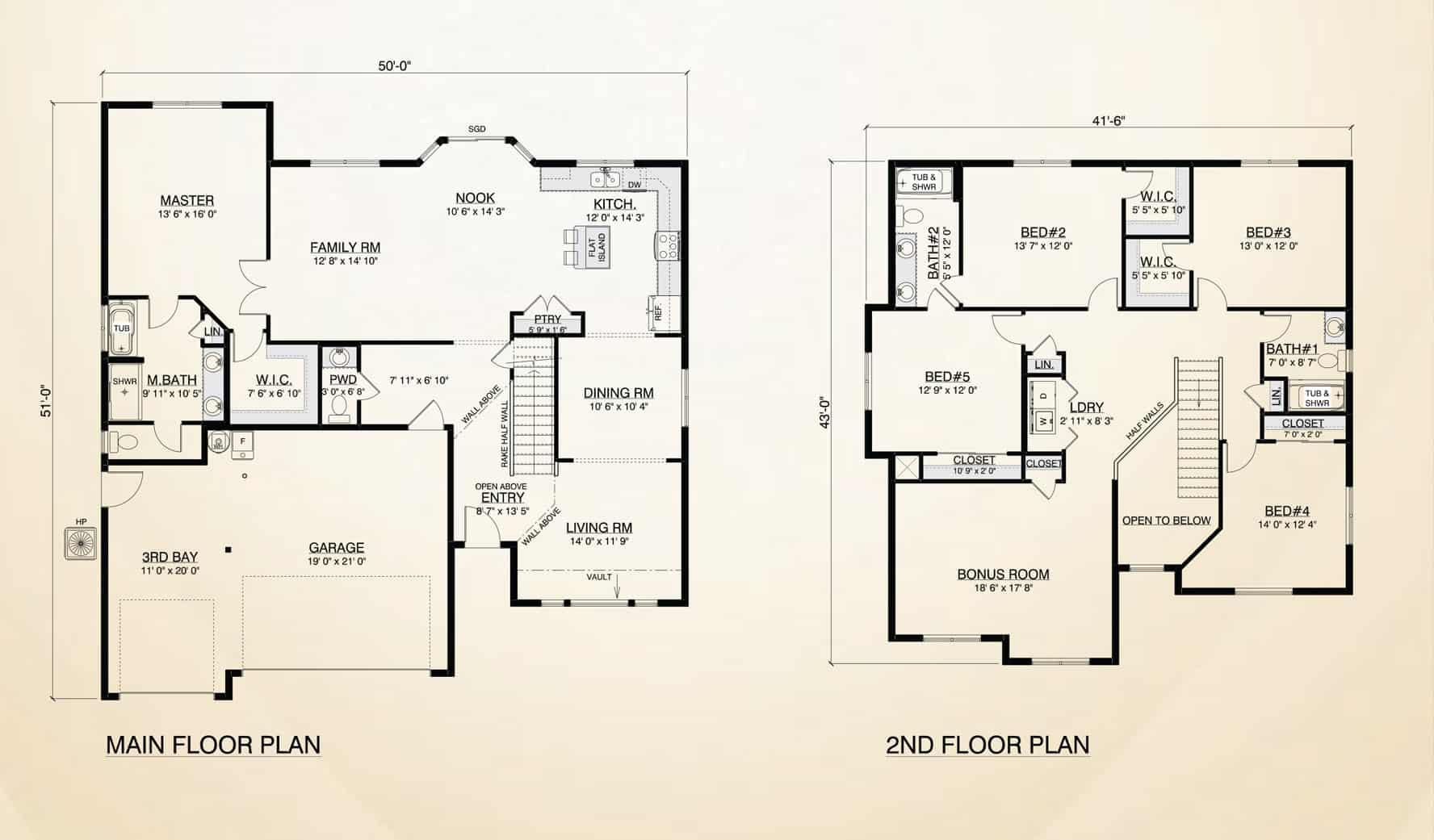 Sequoia home plan true built home pacific northwest for True homes floor plans