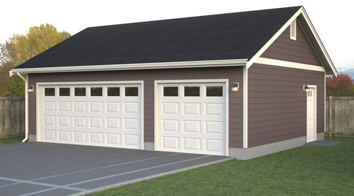 Garages true built home pacific northwest home builder for Simple house plans with garage