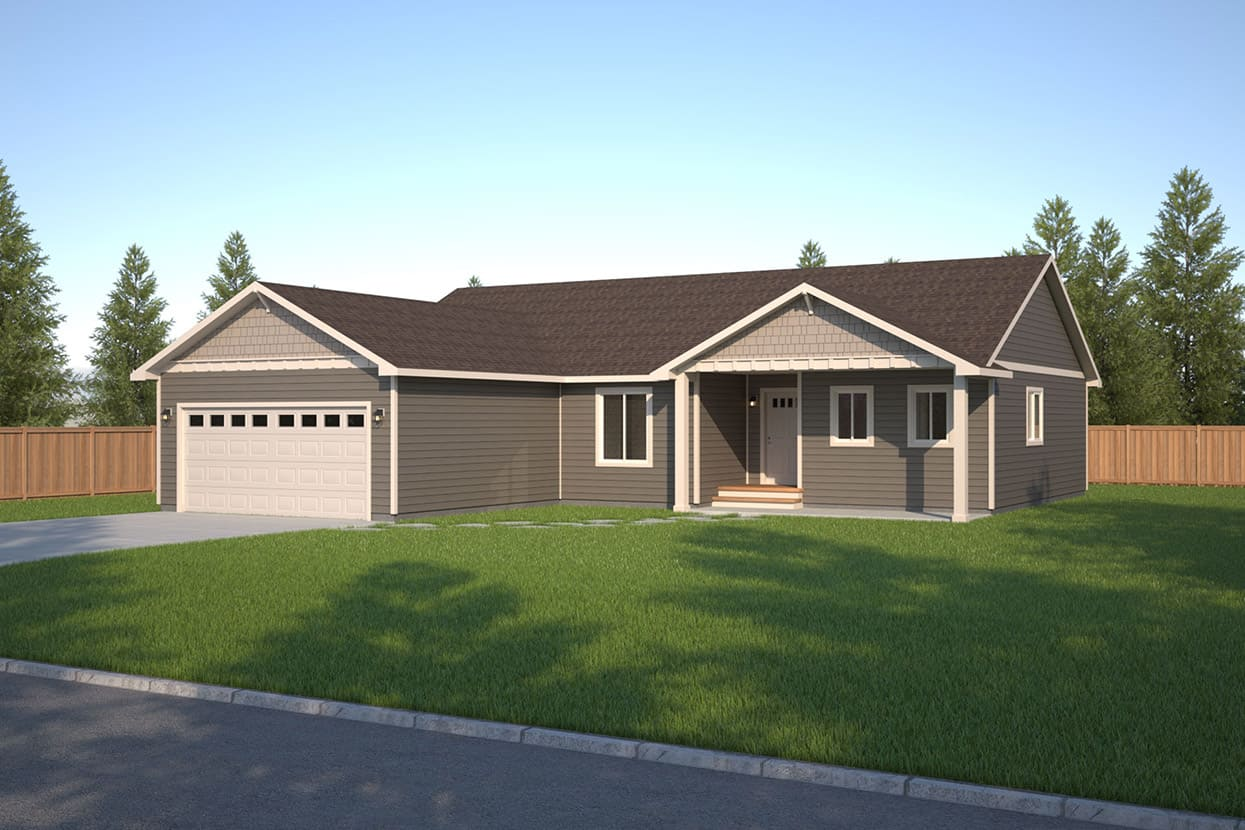 Wainsford home plan true built home pacific northwest for Pnw home builders