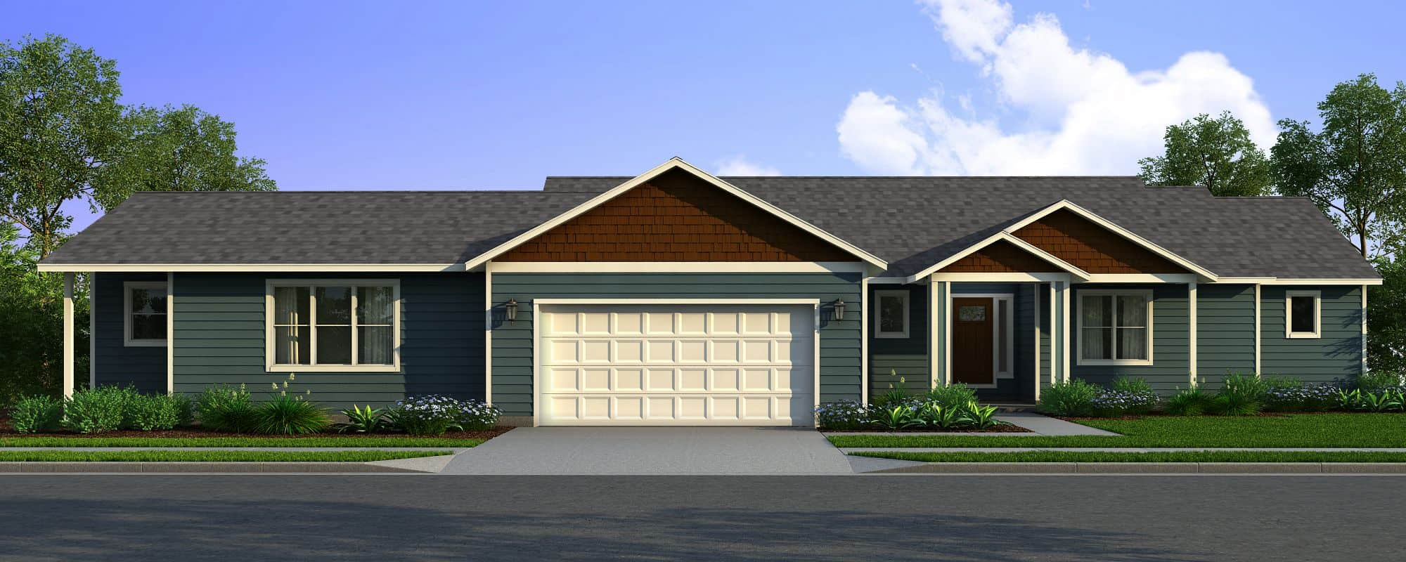 Rambler Homes Multi Generational Home Plans True Built Home Pacific