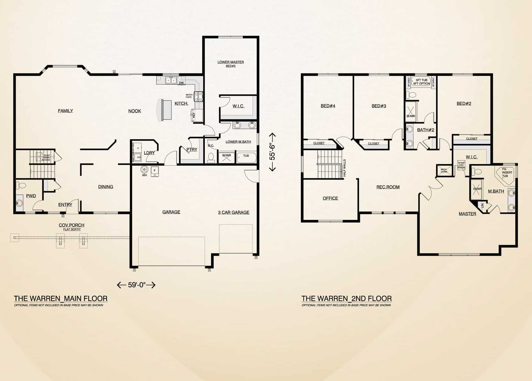 the warren home plan true built home pacific northwest