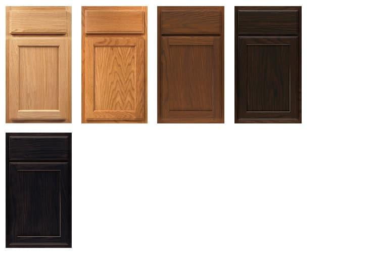 Aristokraft Oakland Oak Wheat Kitchen Cabinets