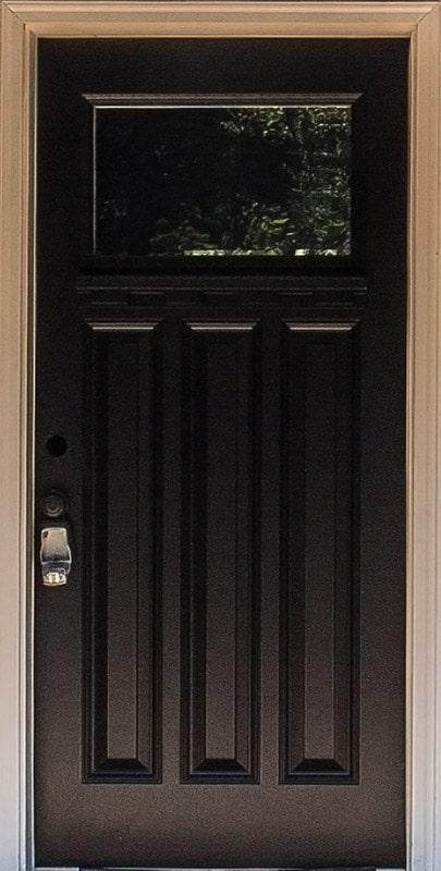 Codel 3-Panel Front Door & Home Features - True Built Home - Pacific Northwest Home Builder