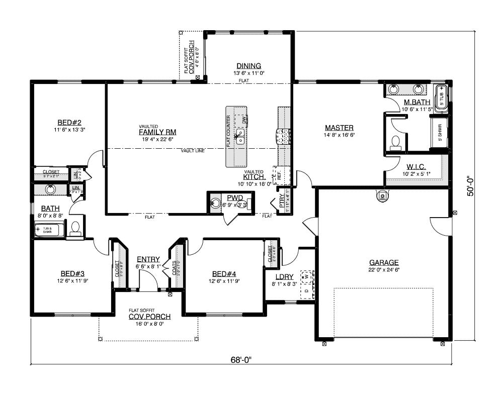 Chadwick East floor plan