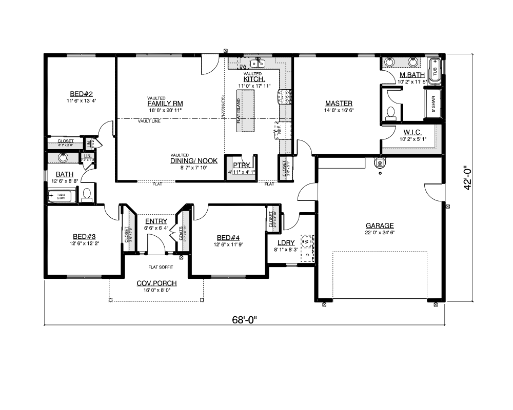 Chadwick floor plan