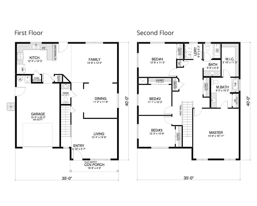Clarkston floor plan