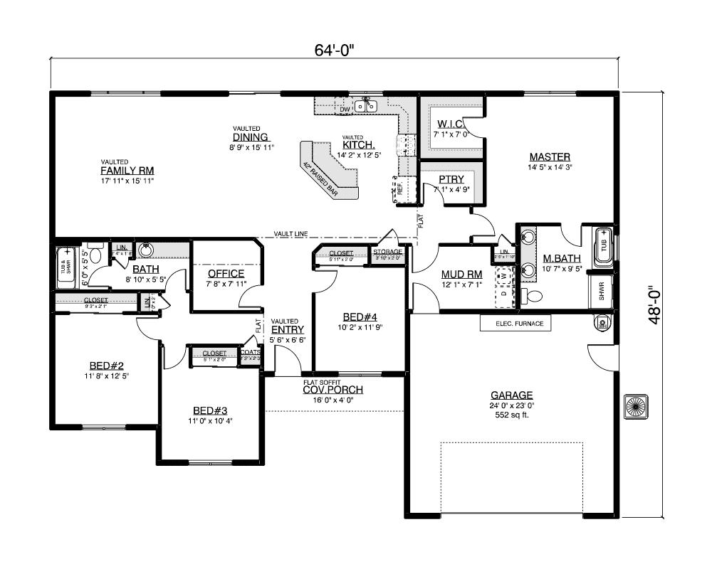 Glenwood floor plan