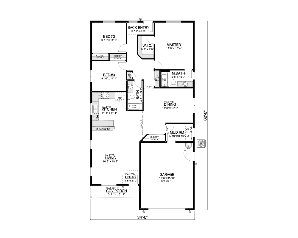 Northbrook floor plan