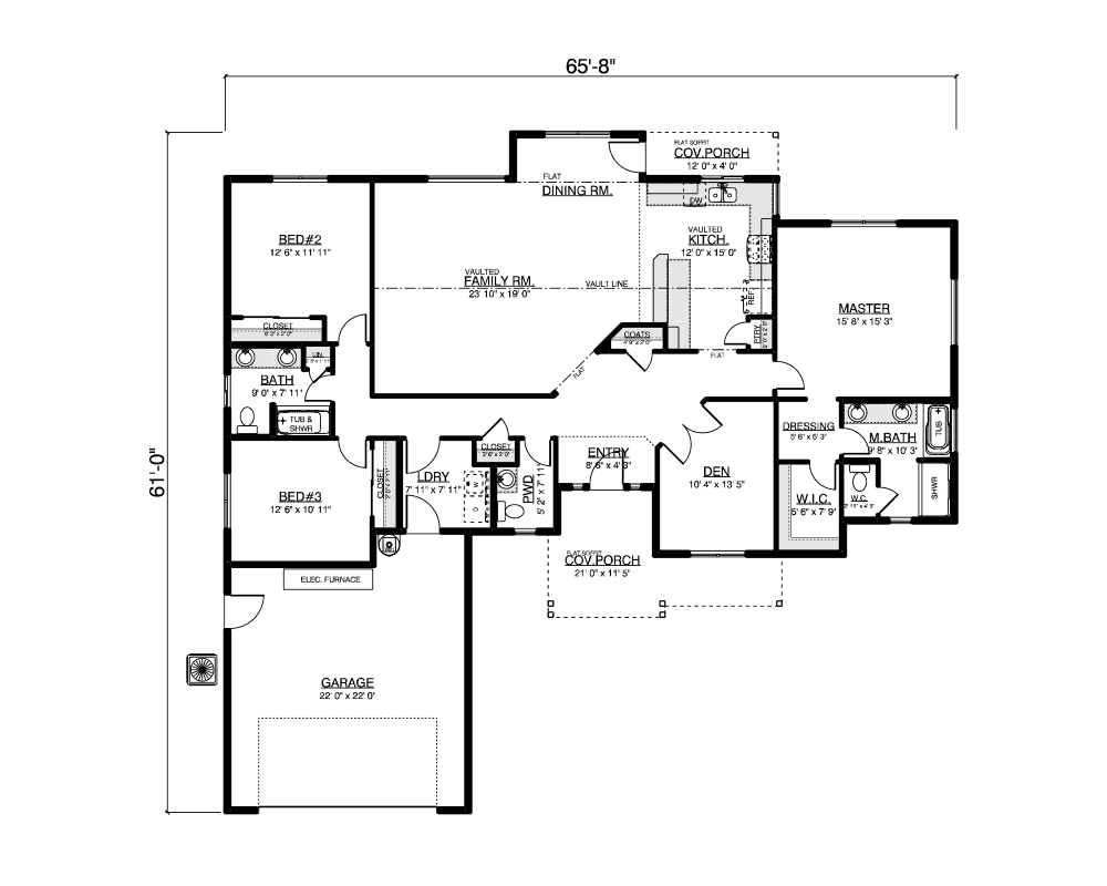 Ripple Cove floor plan