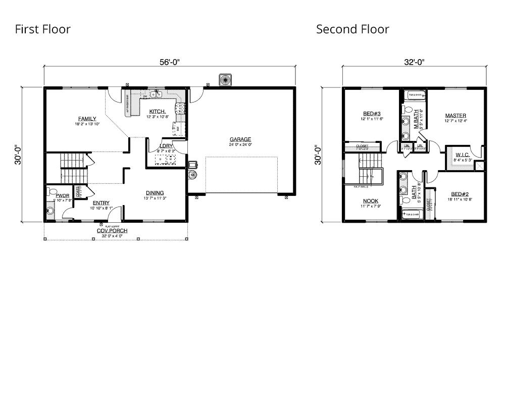 Sandstone floor plan