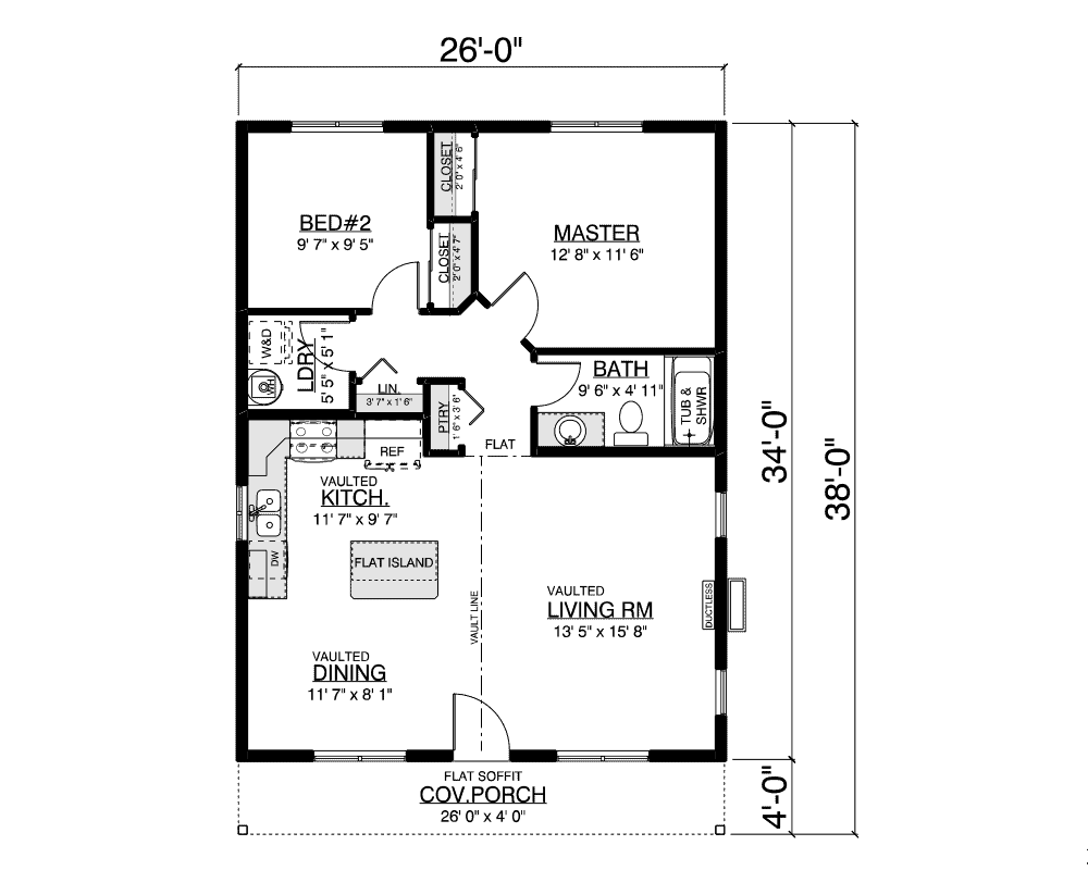 Shasta floor plan