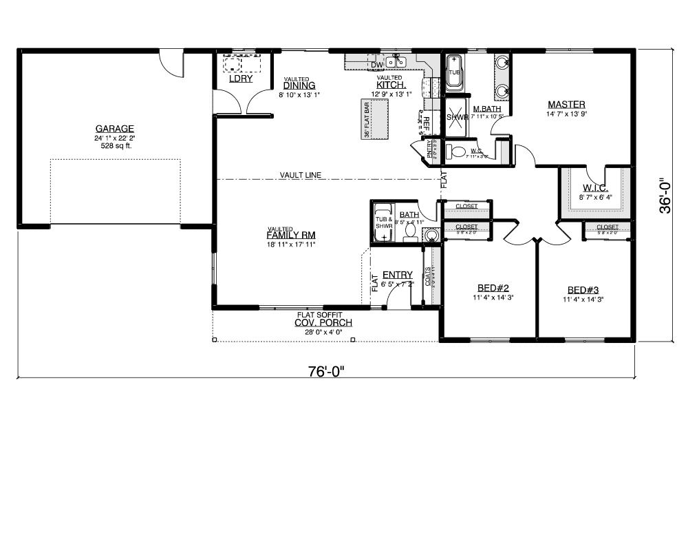 Ballenger floor plan