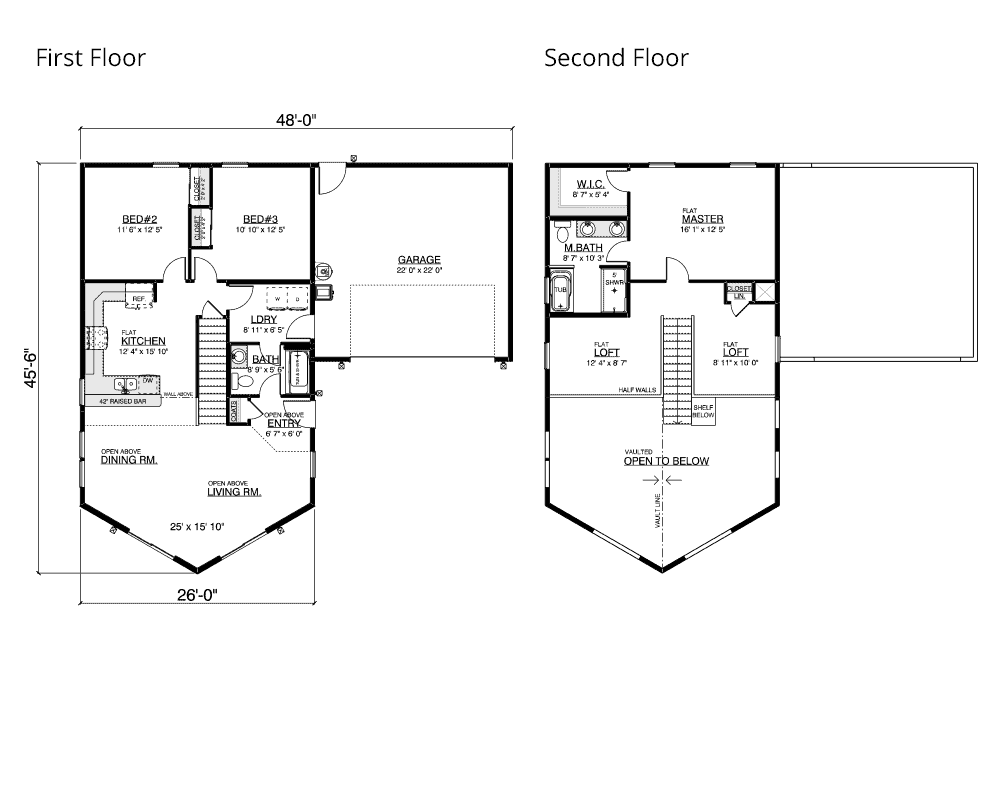 Seaview floor plan