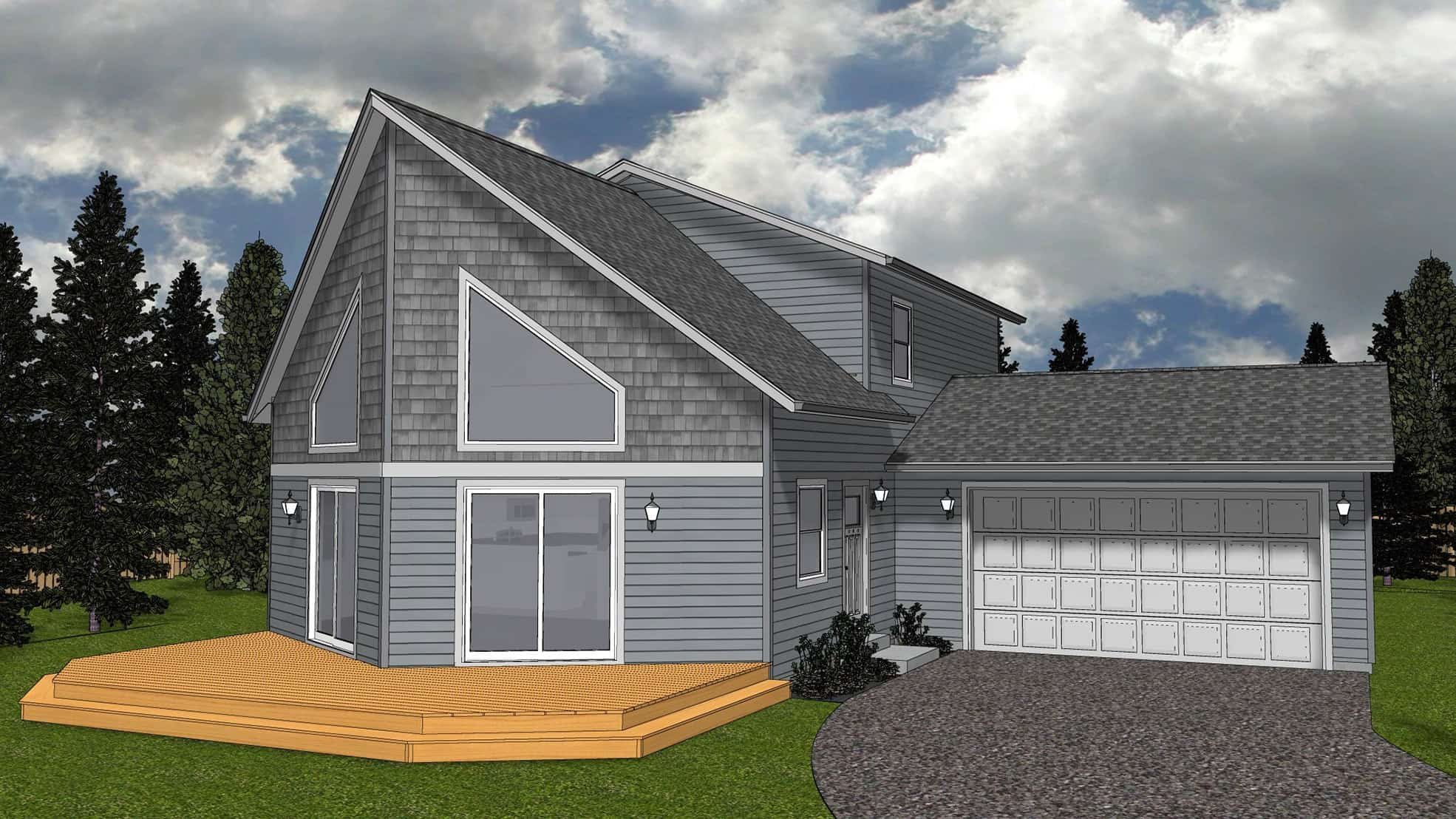 Seaview home plan