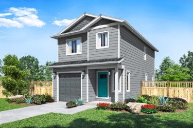 Westport Townhouse Home Floor Plan