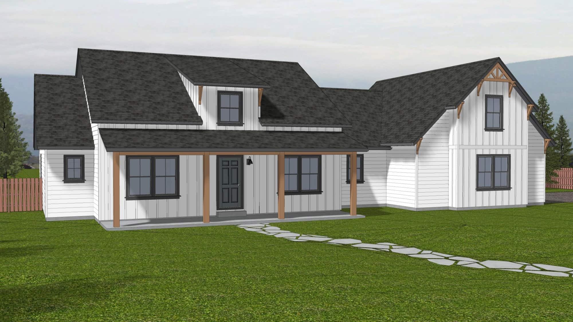 Silverdale Home Floor Plan